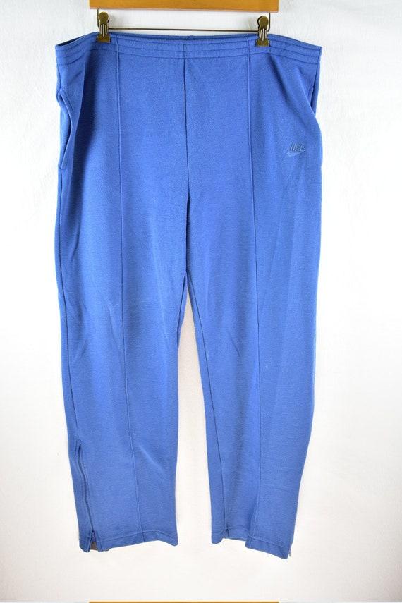 vintage 80s nike sweatpants size xxxl