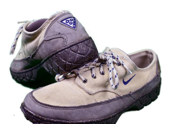 6b11714b27c7 Vintage 90s nike acg hiking shoes size mens 8.5 rare
