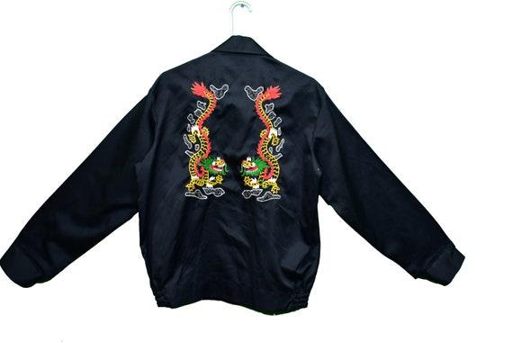 70s light souvenir jacket size large