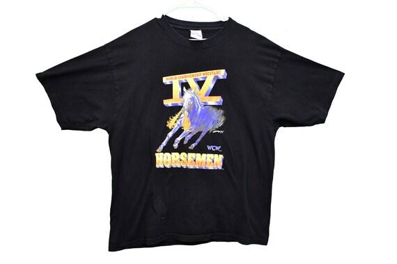90s WCW four horseman wrestling tee shirt size xxl