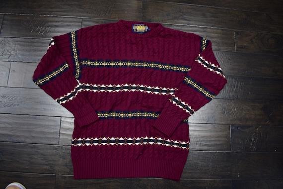 80s chaps ralph lauren sweater size large - image 1