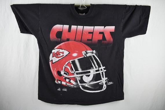 9a23b70ac vintage 90s kansas city chiefs tee shirt size xl