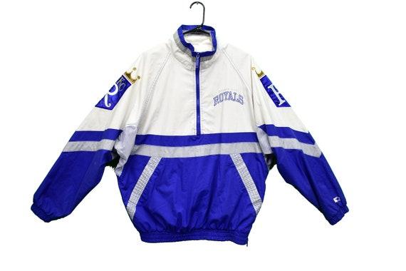 90s kansas city royals starter windbreaker jacket
