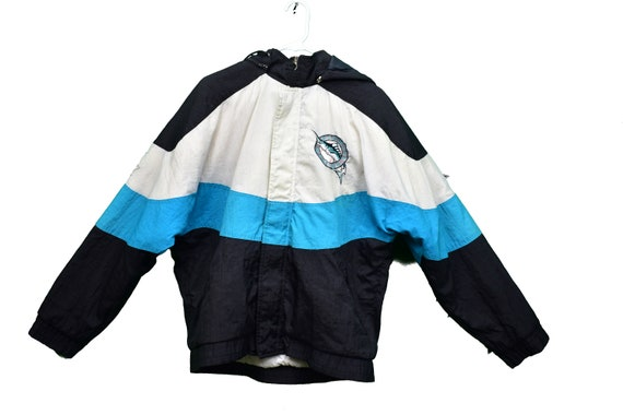 90s florida marlins apex one puffer jacket size me