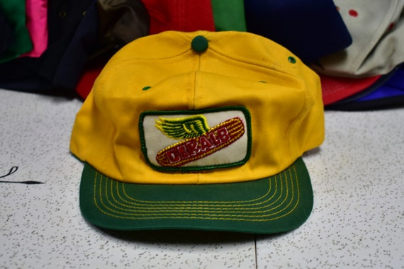 80s dekalb k products snapback hat