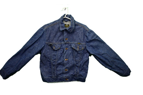 70s blue bell maverick denim jacket size 40