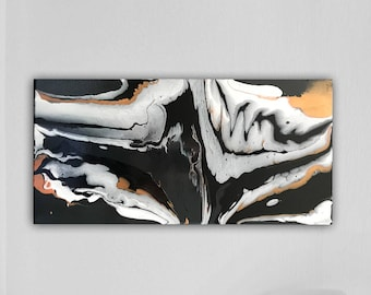 Original Acrylic Pour Abstract Painting Fluid Art