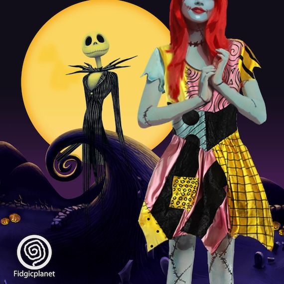 Nightmare Before Christmas Gifts Uk: Sally Dress The Nightmare Before Christmas