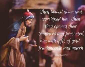 Christmas Scripture Prints (set of 4)