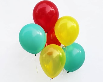 """Vintage Race Car- 11"""" Latex Balloons 