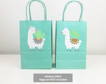 Beach Bag Market Bag Festive Llama /& Cactus Tote Handmade Everyday Tote