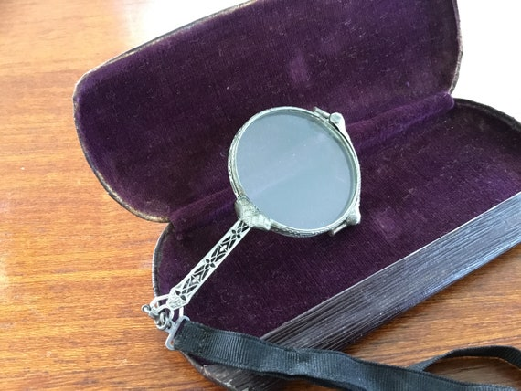 3e7ea9091c5 Antique Victorian Lorgnette  Eyeglasses  Opera Glasses