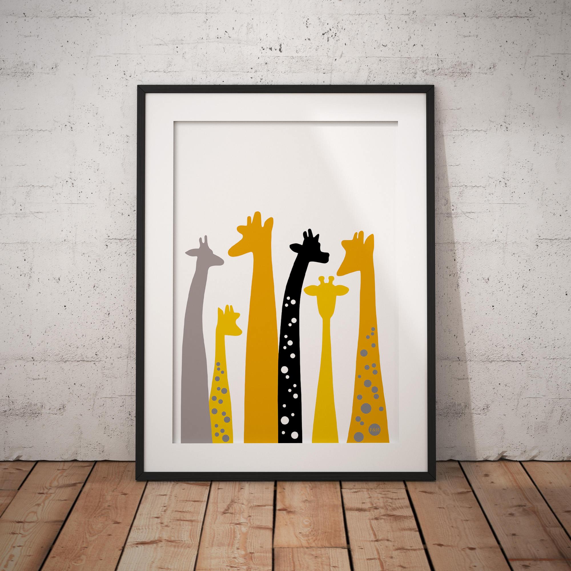 Kinderzimmer Safari-Kinderzimmer Kinderzimmer Giraffe