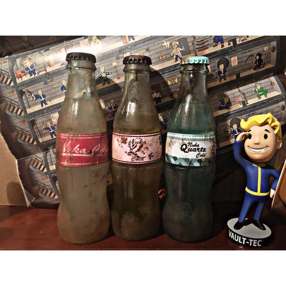 nuka cola quartz uv reactive collectible inspired by fallout etsy