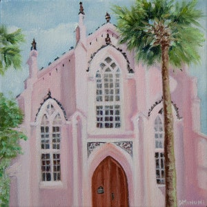 Original Art Giclee Fine Art Print No rEgrets Charleston SC