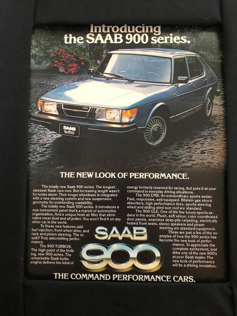 1970/'s Saab 900 Print Advertisement Introducing the SAAB 900 Series