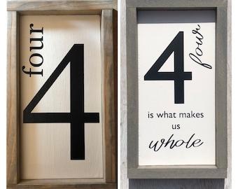 Number Sign Etsy