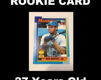 0d141a51a1 1990 Topps Ken Griffey, Jr. Rookie Card #336
