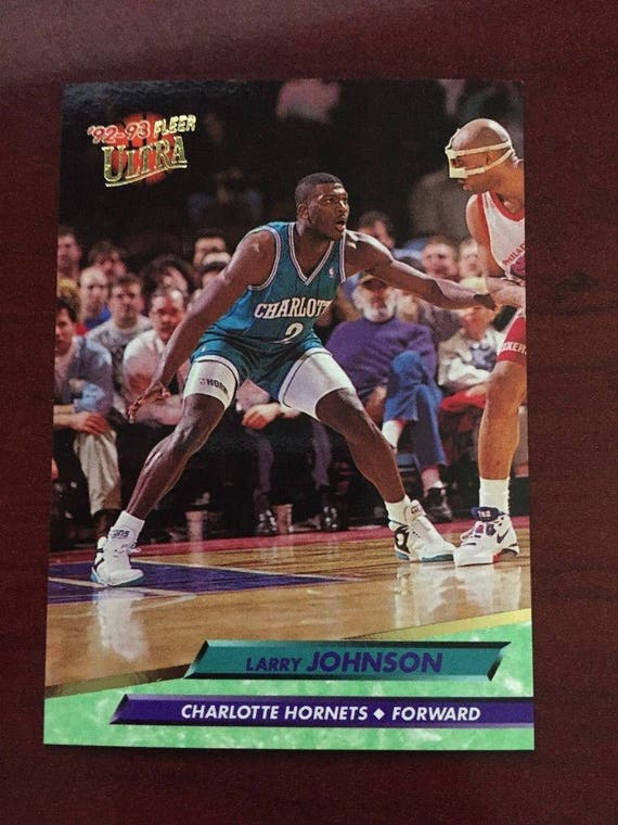 1992 93 Fleer Ultra Larry Johnson 21 Mint Condition