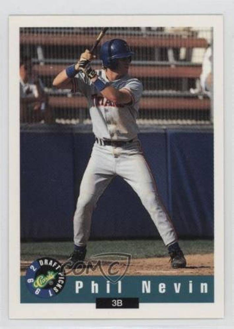 1992 Promos #NoN Phil Nevin Classic Draft Picks Houston Astros Baseball Card