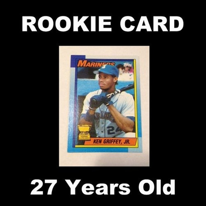 1990 Topps Ken Griffey Jr Rookie Card 336