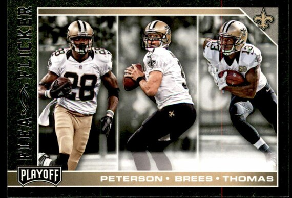 Playoff Flea Flicker 6 Adrian Peterson Drew Brees Michael Thomas