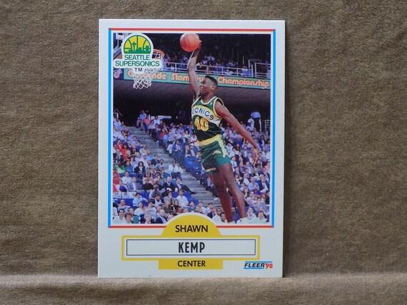 643f9a2aa83f6 Shawn Kemp 1990-91 Fleer #178 Rookie Card Mint Condition