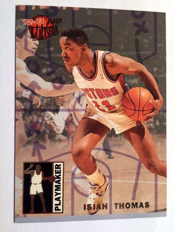 1992-93 Fleer Ultra Playmaker #9 John Stockton Utah Jazz Basketball Card Mint Condition