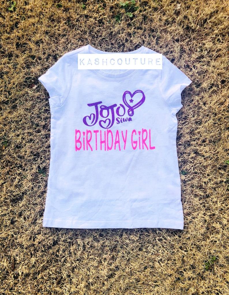 Jojo Siwa Birthday Shirt Etsy Jpg 794x1023 Outfit Popular