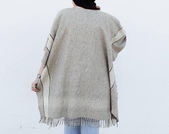 Vintage Wool Shawl