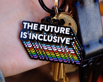 LGBTQ Keychain Pansexual Pride Pansexual as Fuck Keychain Pansexual Keychain LGBTQ Gift