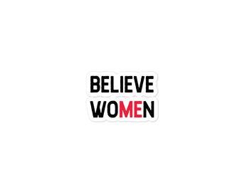 Believe Women Stickers