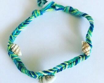 Seashell Fishtail Bracelet