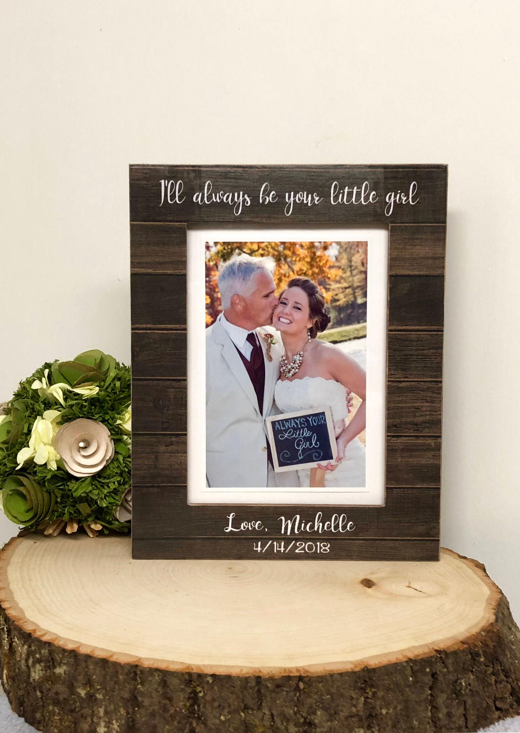 Famous Picture Frame For Father Of The Bride Festooning - Framed Art ...