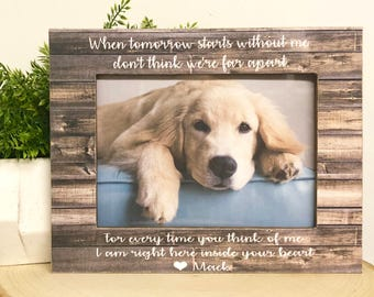 Pet Loss| Dog Frame| Personalized Pet| Personalized Dog| Remembrance Frame| Remembrance Gift| Cat Frame| Dog Loss| Dog Gift