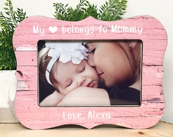 Mom Frame• Mothers Day Frame• Personalized Mom• Baby Frame• Gift Idea For Mom• Baby Shower Gift• New Mom Gift• Ultrasound Frame• 5x7 4x6