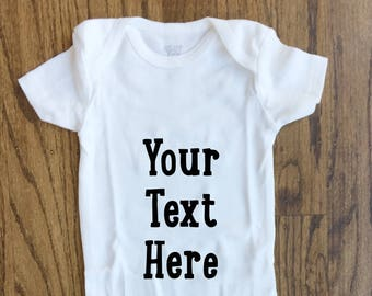 e7afa701b Personalized baby ONESIE® | custom baby clothes | personalized baby gift
