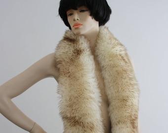 Vintage 1970s Sheepskin Stole