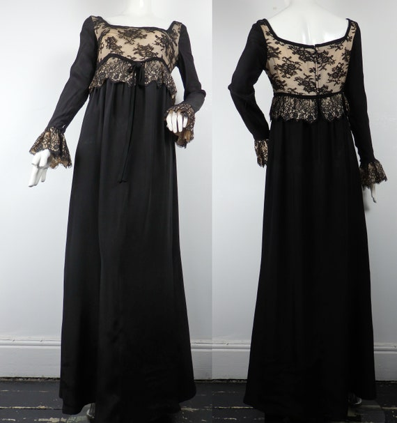 Vintage 1960s Jean Varon, 60s Evening Dress, Vinta