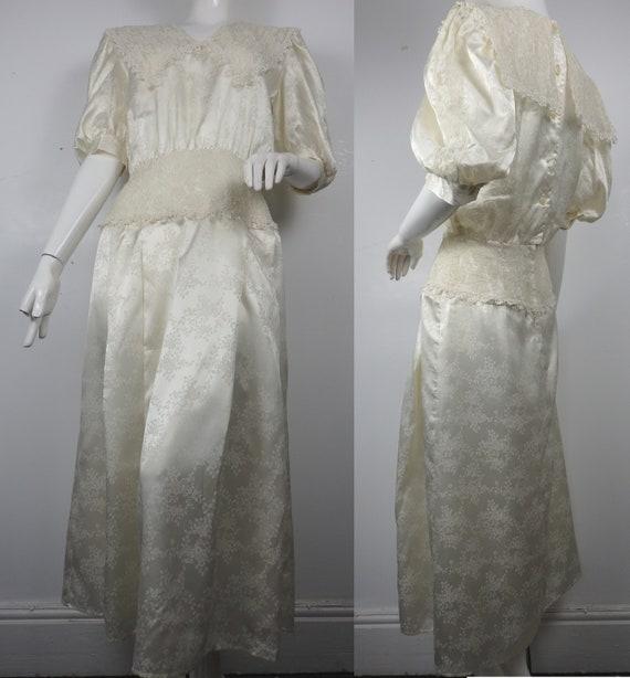 Vintage Gunne Sax Dress / 1980s Gunne Sax Dress /