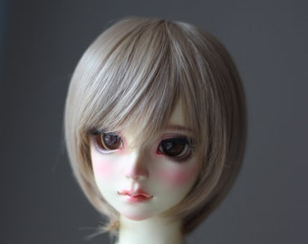 1/3 1/4 bjd sd msd wigs ,Classic short hair wig, 4 colors