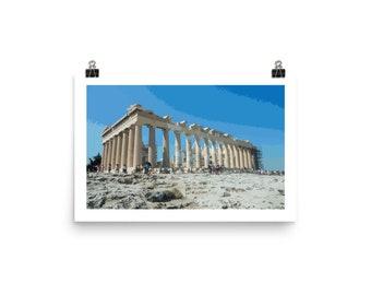 Greece Parthenon Poster