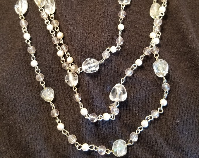 Jewelry, Necklace, Beaded Jewelry, Beaded Necklace, Womens Wear Jewelry, High Fashion Jewelry, Trey Coppland Designs, Silver Jewelry, Beaded