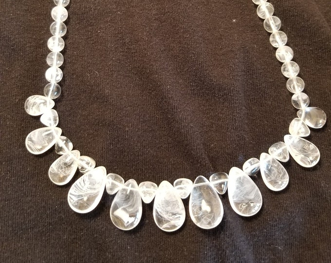 Jewelry, Necklace, Beaded Necklace, Choker Necklace, One of a kind Jewelry, Jewelry for Sale, Trey Coppland Designs, Glass Beads, Crystal