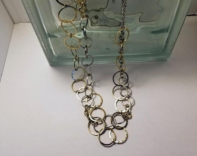 Jewelry, Necklace, Silver Jewelry, Trey Coppland Designs, Charm Necklace, Charm Jewelry, Circle Charms, Jewelry for Sale, Fashion Jewelry