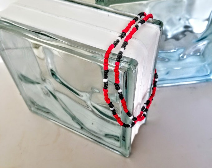 Jewelry, Necklace, Beaded Jewelry, Beaded Necklace, Religious Jewelry, Religious Necklace, Trey Coppland Designs, Artistic Jewelry