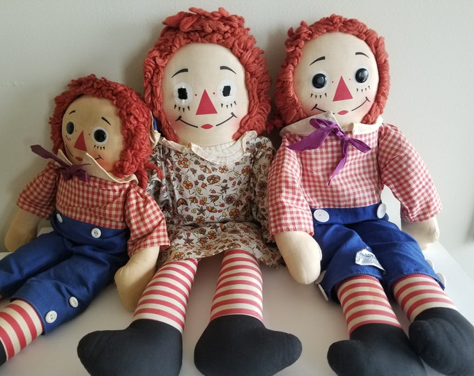 Raggedy Ann and Andy Doll's