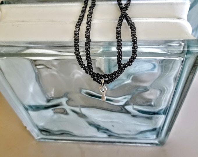 Jewelry, Necklace, Charm Jewelry, Charm Necklace, Beaded Necklace, Beaded Jewelry, Angel Charm, Silver Charm, Trey Coppland Designs, Art