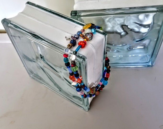 Jewelry, Necklace, Beaded Necklace, Beaded Jewelry, Mexican Fire Beads, One of a kind Jewelry, Jewelry for Sale, Trey Coppland Designs,