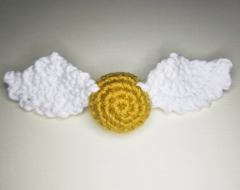 Golden Snitch Hair Clip
